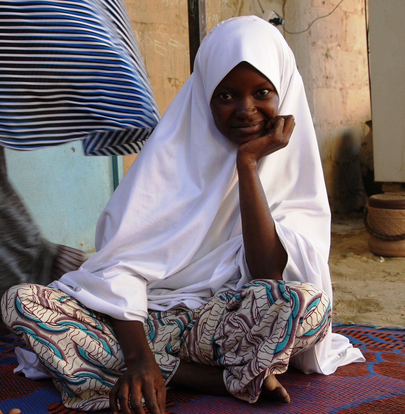 Young Nigerian refugee in Diffa, Niger.