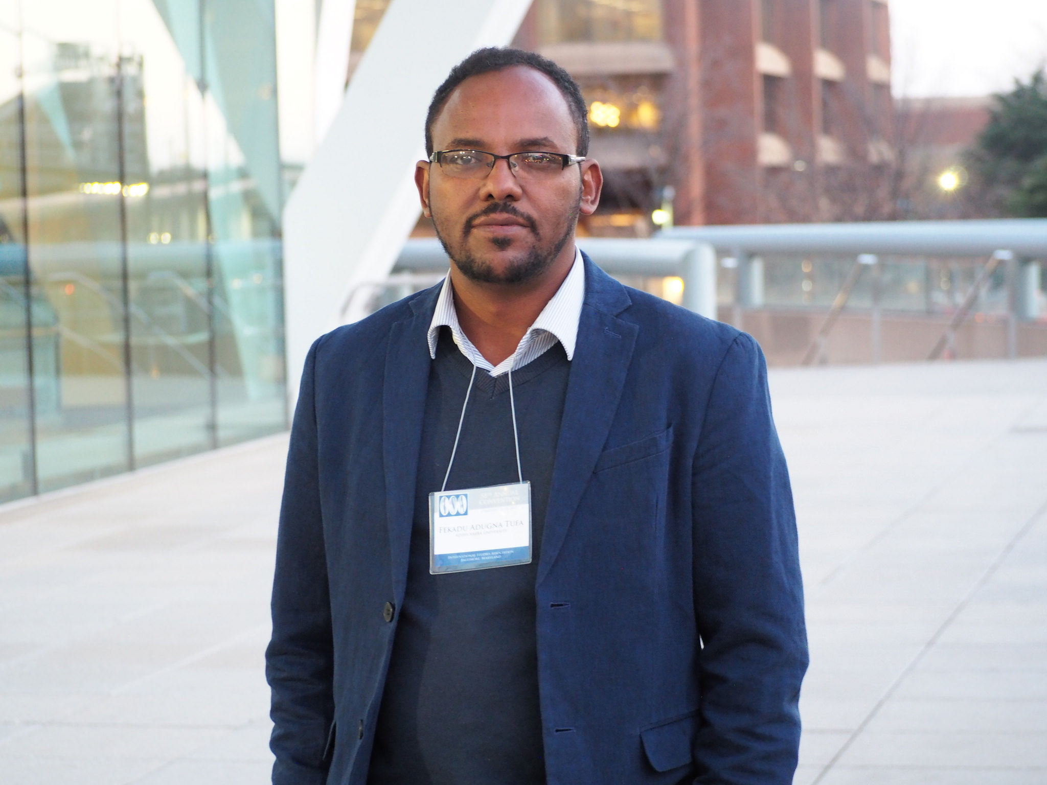 Professor Fekadu Adugna Tufa at the ISA