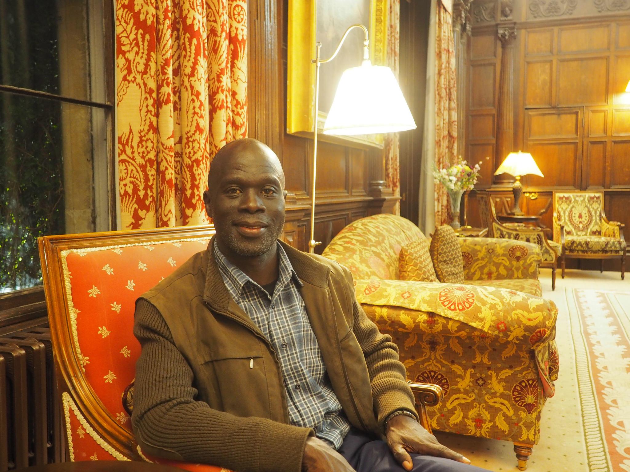 Dr. Kizito Sabala at Wiston House, Wilton Park