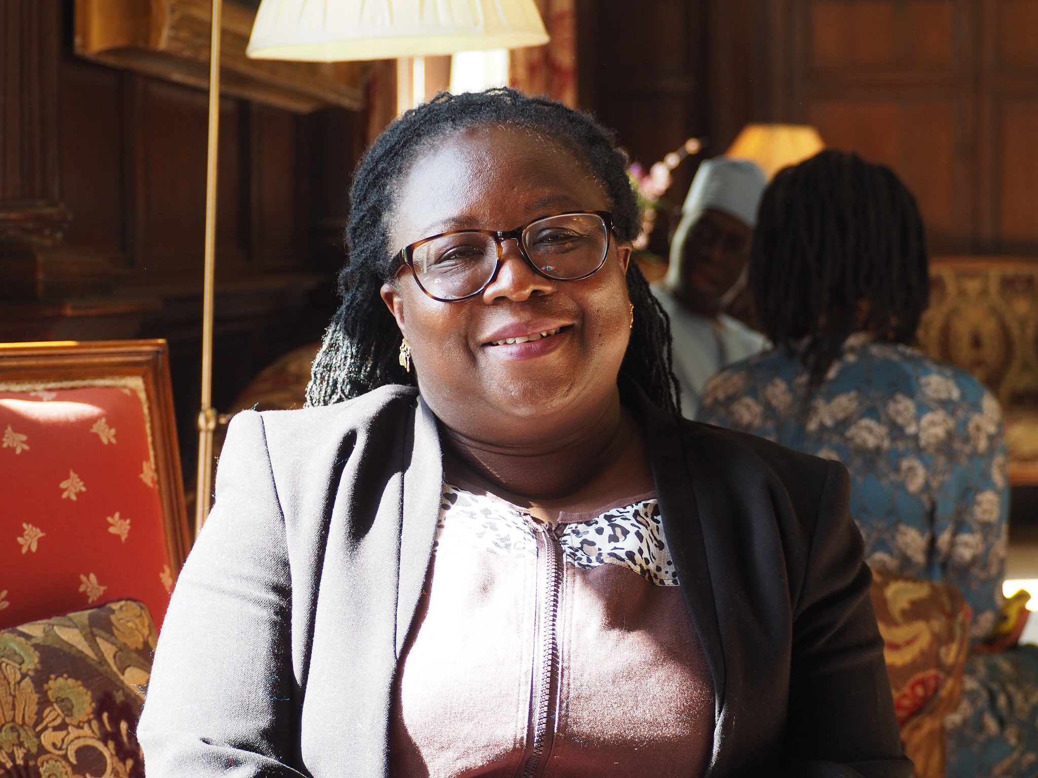 Professor Audrey Gadzekpo at Wiston House