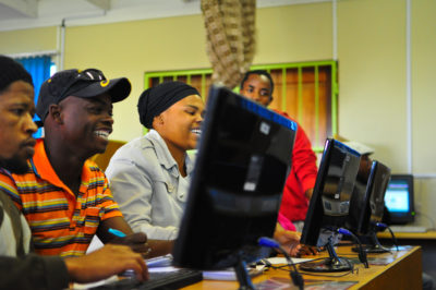 Youth technology training in South Africa