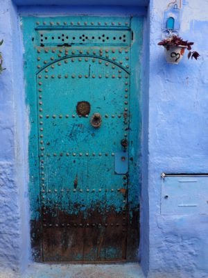 Blue Door, Chefchaouen, Morocco
