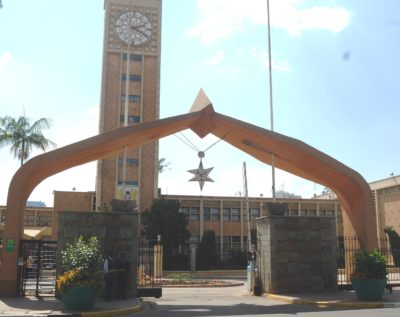 Entry of the Parliament of Kenya, Nairobi