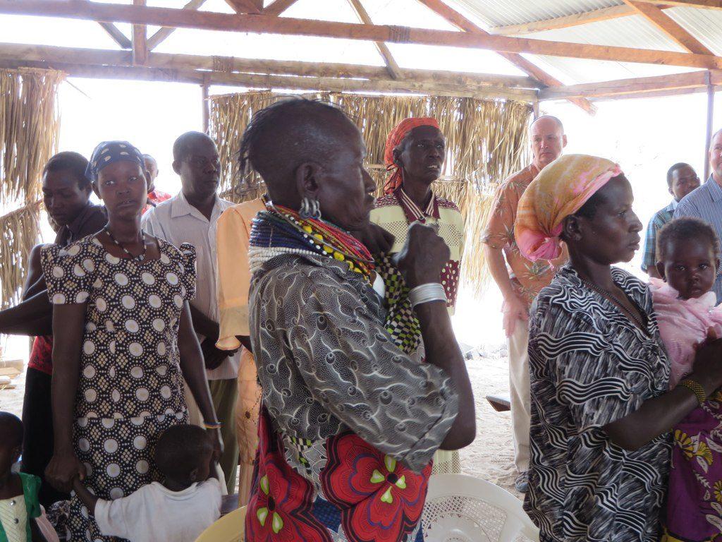 Women in Lodwar, Kenya
