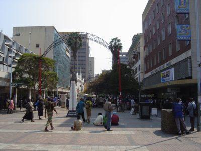 First Street, Harare, Zimbabwe | Image via Flickr | Gary Bembridge