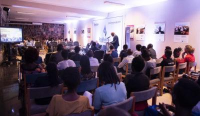 Ubumuntu Conversation at Kigali Genocide Memorial Peace School. Photo Credit: Aegis Trust