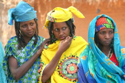 Fulani women in Paoua, Northern Nigeria. Photo Credits: Brice Blondel for HDPTCAR
