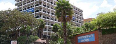 Ministry of Health, Nairobi, Kenya . Photo by neverending september.