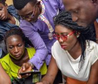 Delegates at the Edit-a-Thon, Nigeria, July 2016. Source: Wikimedia User Group Nigeria