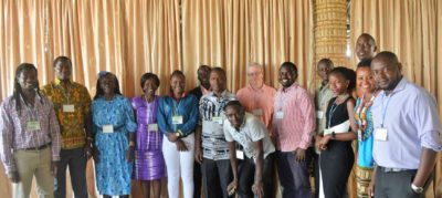 Participants at the East Africa Regional Peace Journalism Training Workshop, Rongo University, Kenya