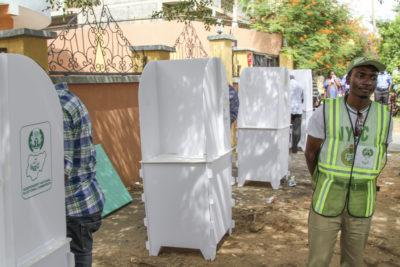 Voting in progress at Presidential election March 28 in Abuja - photo by U.S. Embassy / Idika Onyukwu