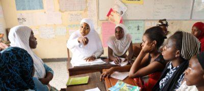 Members of the Girls Leadership Program (GLP), Minna, Nigeria. Photo: Nsoedo O. Ndubuisi for IWHC.