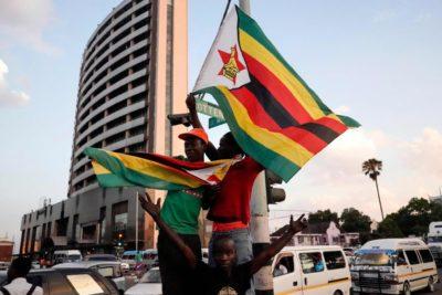 """ Solidarity March in Harare"", 18 Nov 2017. Photo by Zimbabwean-eyes."
