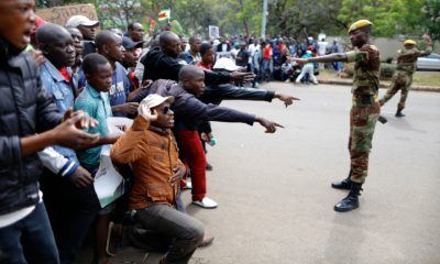 """ Anti-Mugabe Solidarity March on Nov 18, 2017"". Photo by Zimbabwean-eyes."