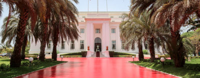 Presidential Palace, Dakar, Senegal. PC: Presidency of Senegal.