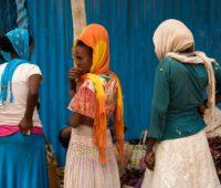 Tigray Women, Hawzien Market, Ethiopia. Photo taken by Rod Waddington on October 7, 2017. No modifications have been made. CC BY-SA 2.0. Original photo: https://flic.kr/p/Z8NVX5